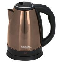 Чайник Willmark WEK-1808SS шоколадный