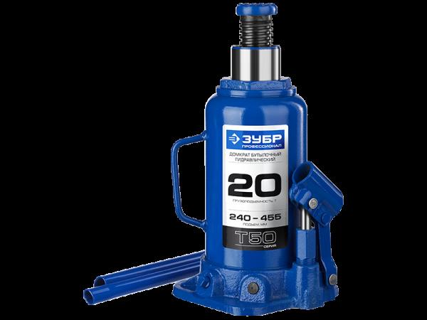 Домкрат гидравлический бутылочный T50 Зубр Профессионал 43060-16_z01