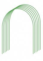 Дуги для парника Grinda, покрытие ПВХ, 2,0м, 6шт 422309-100-070