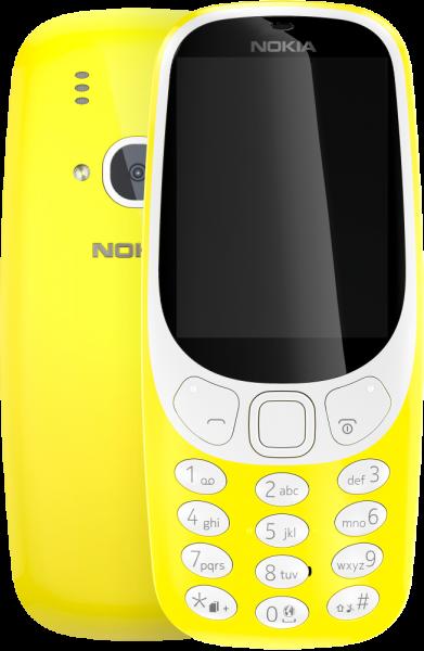 Сотовый телефон Nokia 3310 DS TA-1030 YELLOW