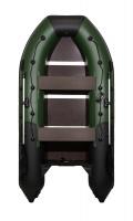 """Лодка ПВХ """"Ривьера 3400 СК"""" Л-532 Компакт Комби зеленый/черный"""