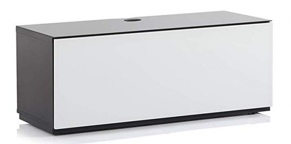 Тумба Sonorous ST 110F BLK WHT BS