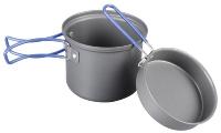 Набор посуды BTrace 1 перс (котел.1л, сковор., губка, мешок д/хран.) 4-21722