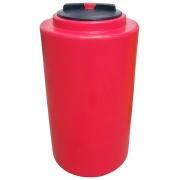 Бак для воды Terra RV200 круглый - красный