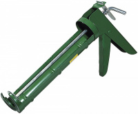 Пистолет для герметика Stayer, полукорпусной, зубчатый шток, 310мл 0661