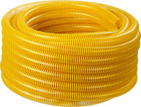Шланг напорно-всасывающий Зубр 40327-19-15 со спиралью ПВХ, 10 атм, 19мм х 15м