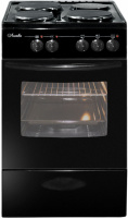 Электроплита Лысьва ЭП 301 черная черное стекло