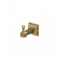 Крючок для полотенца Milacio MC.915.BR, бронза (коллекция Alicante)