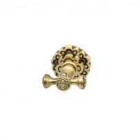 Крючок для полотенца двойной Milacio MC.902.BR, бронза (коллекция Villena)