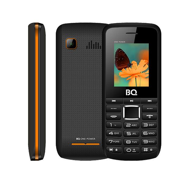 Сотовый телефон BQ 1846 One Power Black+Orange