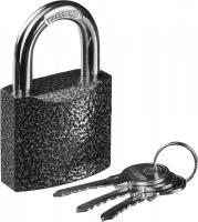 "Замок Stayer ""Standard"" навесной, металлический корпус, закаленная дужка, 50 мм 37160-50"