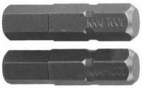 """Биты Kraftool """"ЕХPERT"""", C 1/4"""", HEX5, 25 мм, 2 шт, 26127-5-25-2"""