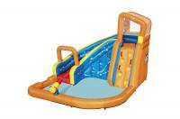 Водный игровой-центр Turbo Splash Water Zone Bestway 53301 BWс разбрызгивателем и горкой 365х320х270см