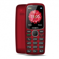 Сотовый телефон Texet TM-B307 красный