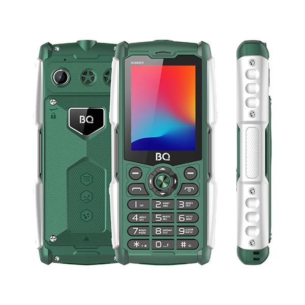 Сотовый телефон BQ 2449 Hammer Green