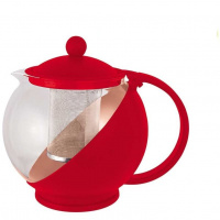 Чайник заварочный Mallony Variato, 1.2 л, красный