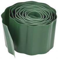Лента бордюрная Grinda 422245-10, цвет зеленый, 10см х 9 м