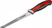 Выкружная мини-ножовка для гипсокартона Зубр 15178_z01 150 мм, 17 TPI (1.5 мм), пласт. рукоятка