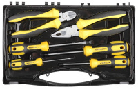 """Набор слесарно-монтажного инструмента Stayer """"Profi"""" Ultra: 4 отвертки, плоскогубцы и бокорезы, 6 предмета 2202-H6"""