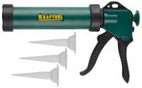 "Пистолет для герметика Kraftool ""KraftSeal"" 06677, закрытый, 320мл"