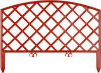 Забор декоративный Grinda Плетень, 24x320см, терракот 422207-T