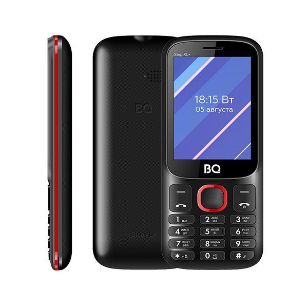 Сотовый телефон BQ 2820 Step XL+, Black+Red