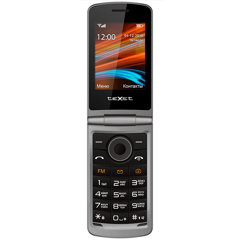 Сотовый телефон Texet TM-404 красный
