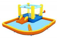 Водный игровой-центр Beach Bounce Bestway 53381 BW 365х340х152см с разбрызгивателем и горкой