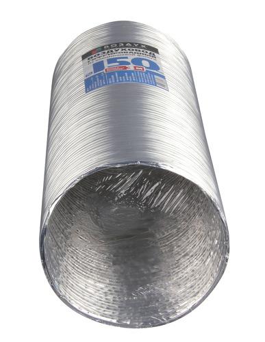 Воздуховод гофрированный Elikor ВГ-1 d 150мм, 3м.