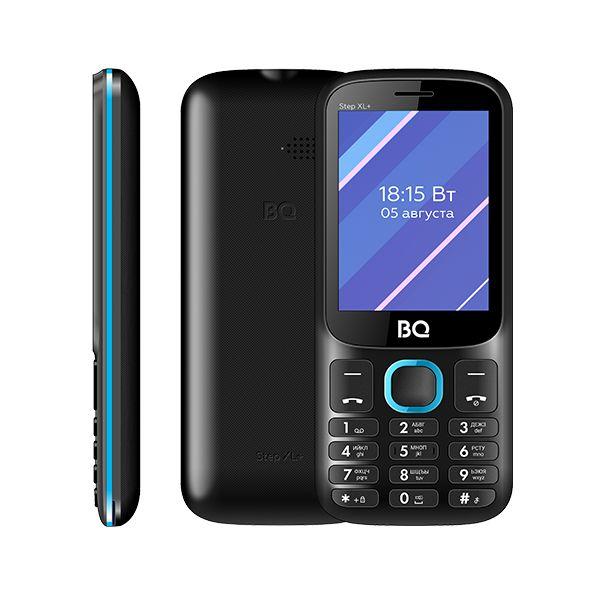 Сотовый телефон BQ 2820 Step XL+, Black+Blue
