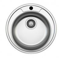 Кухонная мойка Zigmund & Shtain Kreis 480.7 480.7 polished сифон