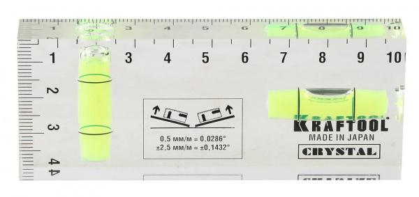 """Уровень Kraftool 1-34865-040 """"Pro"""" """"Crystal"""""""