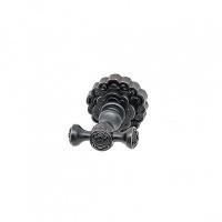 Крючок для полотенца двойной Milacio MC.902.BBR, чёрная бронза (коллекция Villena)