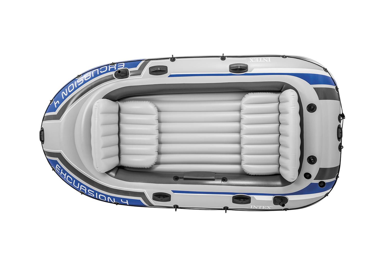 "Надувная лодка Intex ""Excursion 4"" 68324"