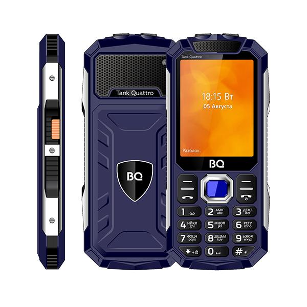 Сотовый телефон BQ 2819 Tank Quattro Blue