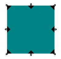 Тент BTrace 3x3 Зеленый 4-18993