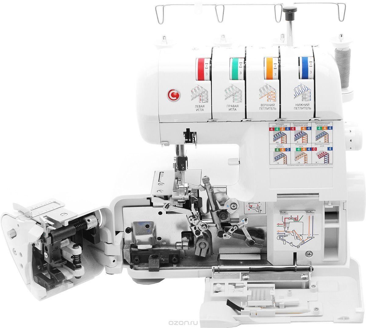 Оверлок Comfort 110 – идеально ровный шов на любой ткани