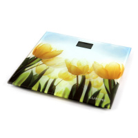 Весы напольные Lumme LU-1329 тюльпаны
