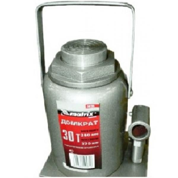Домкрат бутылочный Matrix 30т 240-370мм