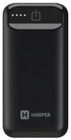 Внешний аккумулятор Harper PB-2605 черный