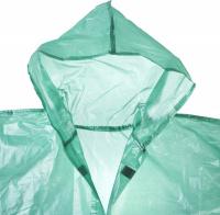 Плащ-дождевик Stayer 11610, полиэтиленовый, зеленый цвет, универсальный размер S-XL 11610