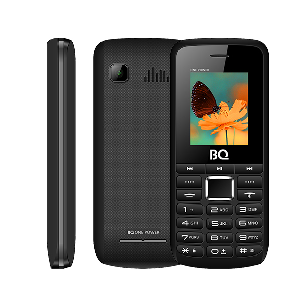 Сотовый телефон BQ 1846 One Power Black+Gray