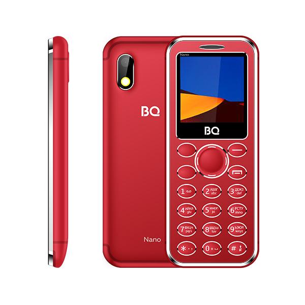 Сотовый телефон BQ 1411 Nano красный