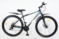 Велосипед Torrent Impulse Алюминий черно-голубой