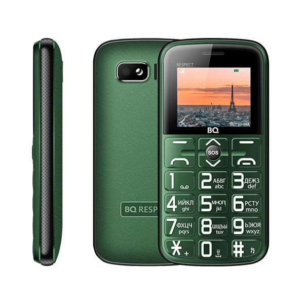 Сотовый телефон BQ 1851 Respect Green