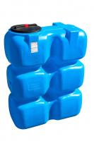 Бак для воды Terra СV1500T квадратный - синий