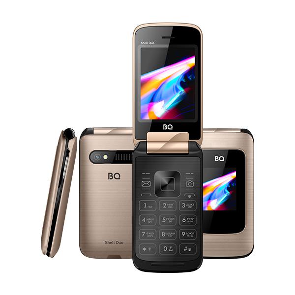 Сотовый телефон BQ 2814 Shell Duo Gold