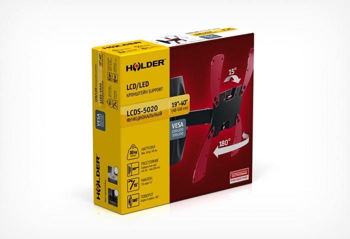 Кронштейн Holder LCDS-5020 черный глянец