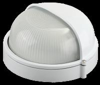 Светильник уличный Светозар влагозащищенный с верхним защитным кожухом цвет белый SV-57263-W