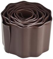 Лента бордюрная Grinda, цвет коричневый, 15смх9м 422247-15